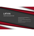 modern background with latvian colors and grey vector image vector image