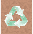 recycle2 vector image vector image