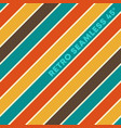 retro design seamless background with vintage vector image