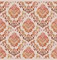 volumetric damask seamless pattern vector image vector image