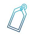 shopping tag symbol vector image