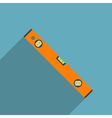 flat level tool vector image vector image