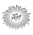 graphic happy new year vector image vector image