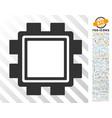 mining pool flat icon with bonus vector image vector image