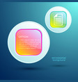 web abstract template vector image