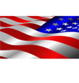 al 0641 american flag vector image
