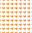 abstract chicken pattern vector image