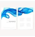 Abstract template horizontal banner vector image vector image