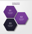business infographics template design for vector image vector image