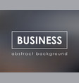 classic gray background template for business vector image