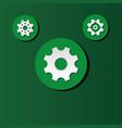 cog wheel icon image vector image vector image