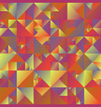 colorful abstract polygonal gradient triangle vector image vector image