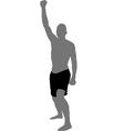 fist raised vector image
