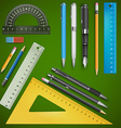 School drawing vector image vector image