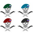 set of sign of special forces of russia vector image vector image