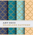 art deco seamless pattern 31 vector image vector image