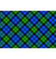 Black Watch milytary tartan diagonal seamless vector image vector image