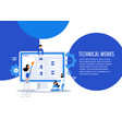 business characters 404 page vector image vector image