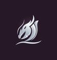 Dragon logo vector image vector image