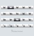 Folders 1 Classic Bar Series vector image vector image