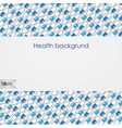 Health background vector image vector image