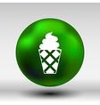 Ice cream logo icon frozen food vector image vector image