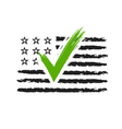 Presidential election USA sign vector image