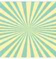 retro sunburst poster vector image