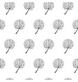 tree hand drawn patterns uneven-04 vector image vector image