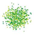 clover leaf hand drawn sketch doodle st patricks vector image vector image
