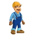 construction or industrial worker icon vector image