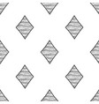 diamonds seamless pattern sketch vector image vector image