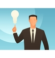 Idea business conceptual with vector image vector image