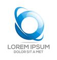 Logo Circle Company O Lettermark vector image vector image