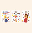 love your body body positive style has no size vector image vector image