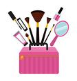 makeover female design vector image