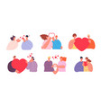 person give love people loving men appreciate vector image