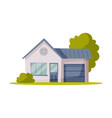 suburban house family home on vector image vector image