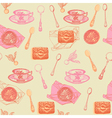 Vintage Afternoon Tea Pattern