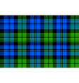 Black Watch milytary tartan seamless background vector image vector image