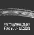 brush stroke for your design vector image vector image