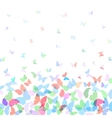 card design Colorful spring background with vector image vector image