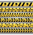 Danger tape set vector image vector image