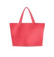 eco recycle bag vector image vector image