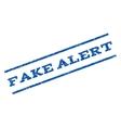 Fake Alert Watermark Stamp vector image vector image