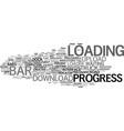 load word cloud concept vector image vector image