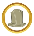Sepulchral monument icon vector image vector image