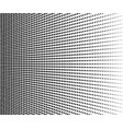 abstract halftone black dots on white background vector image vector image