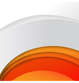 Abstract wave orange background 003 vector image vector image