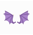 Bat wings icon cartoon style vector image vector image